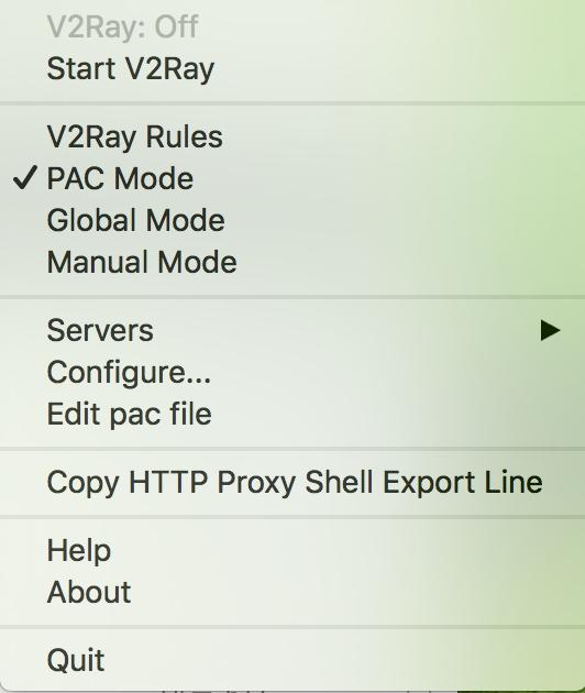 Mac 下使用 V2ray-拉图分享